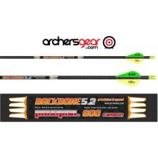 MAXIMAL ARROWS CARBON BACKBONE 5.2 + NOCK+INSERT