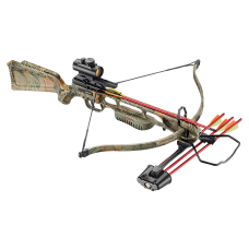 'JAG 1 DELUXE' 220fps CAMO 175lbs,RED DOT & ACCESORIES